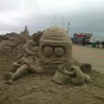 """Underwater Orchestra"" Texas Sandfest 2013, Port Aransas, TX"