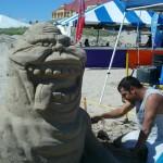 """""""Slimer"""" Texas Sandcastle Days 2011"""