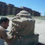 """""""Slimer"""" Texas Sandcastle Days 2013"""