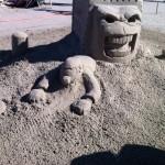 """""""Game Over"""" Texas SandFest 2012, Port Aransas, TX"""